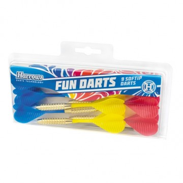 Nooled pehmeotsaga Harrows FUN DARTS