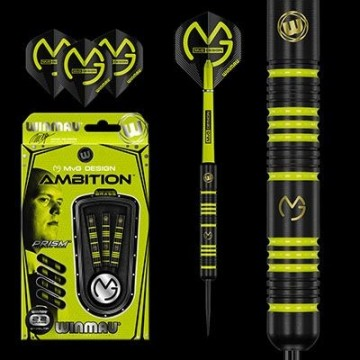 Terasotsaga mängunooled Winmau Michael van Gerwen - AMBITION messing