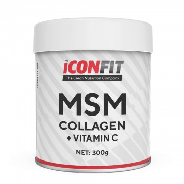 ICONFIT MSM Collagen + Vitamiin C 300g