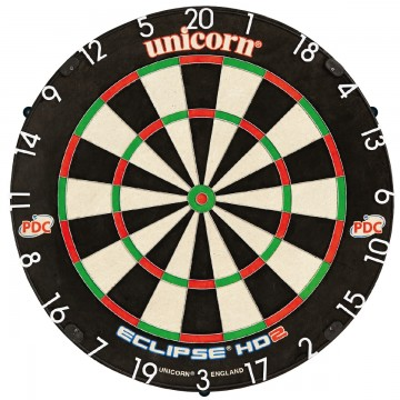 Noolemängulaud Unicorn ECLIPSE HD2 PRO EDITION PDC DARTBOARD UNILOCK